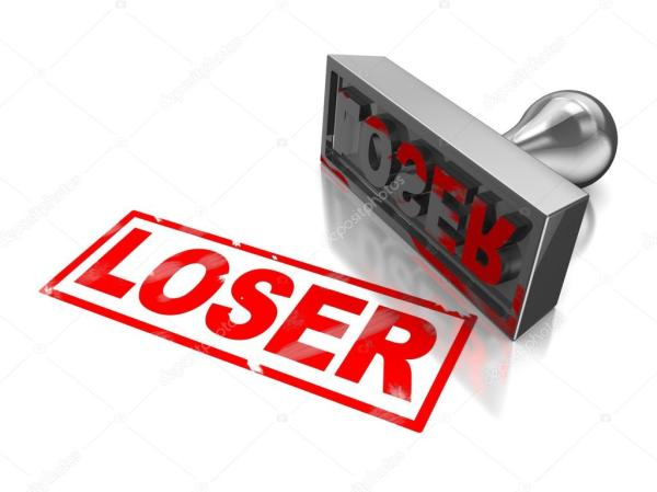 Stamp loser — Stock Photo © mmaxer #13873701