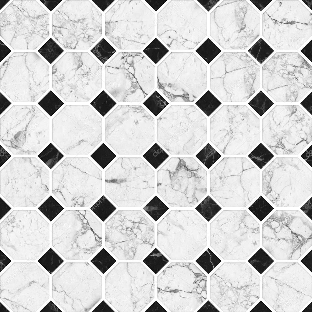 White And Black Mosaic Marble Texture Highs
