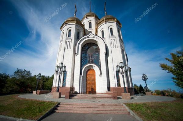 Церковь Всех Святых в России — Стоковое фото © katalinks ...