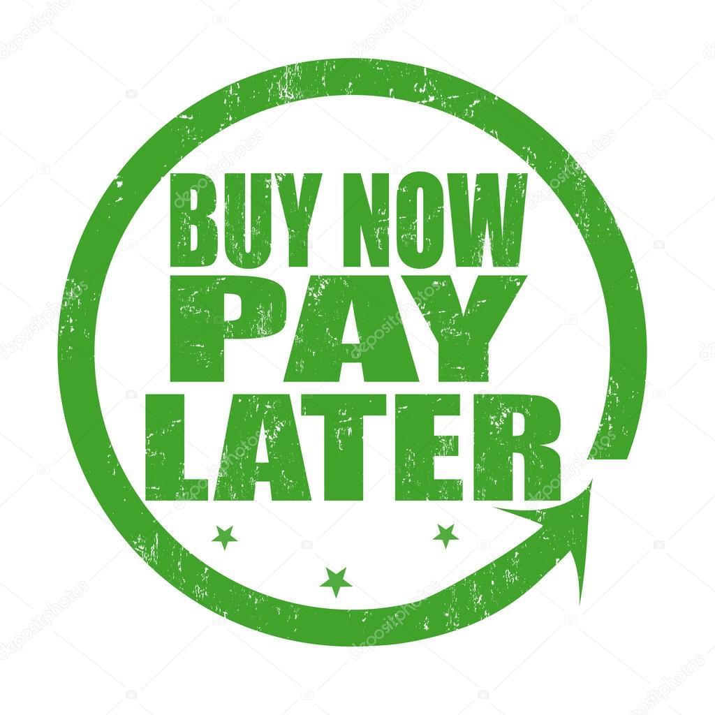 acheter maintenant payer plus tard grunge rubber stamp sur blanc illustration vectorielle vecteur par roxanabalint