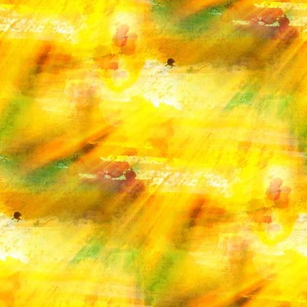 Цветовой бесшовный фон зеленый, желтый акварель акварели ...