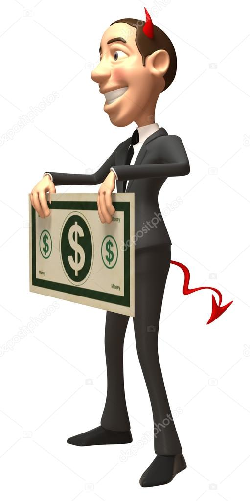 Злой бизнесмен — Стоковое фото ...
