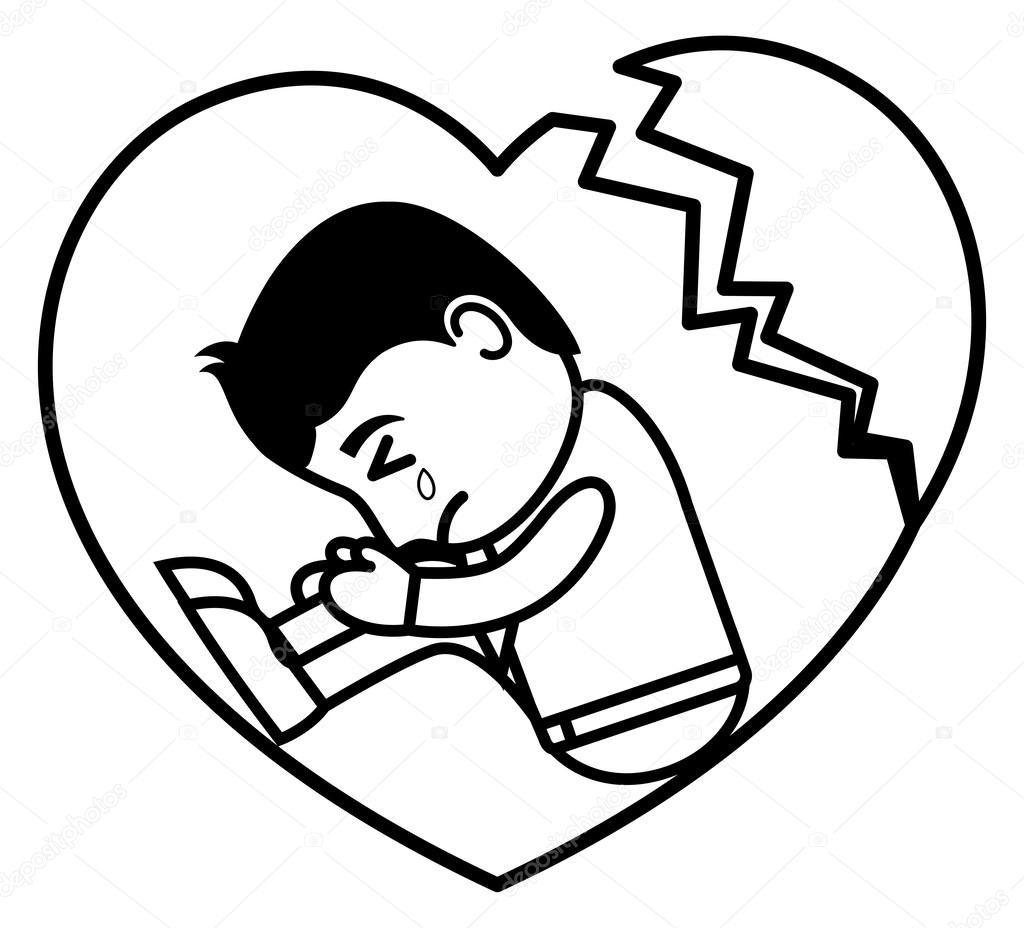 Broken Heart Sad