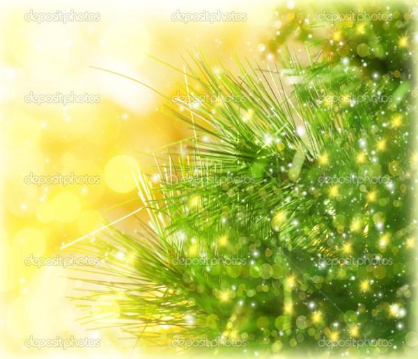 граница рождественской елки — Стоковое фото © Anna_Om ...