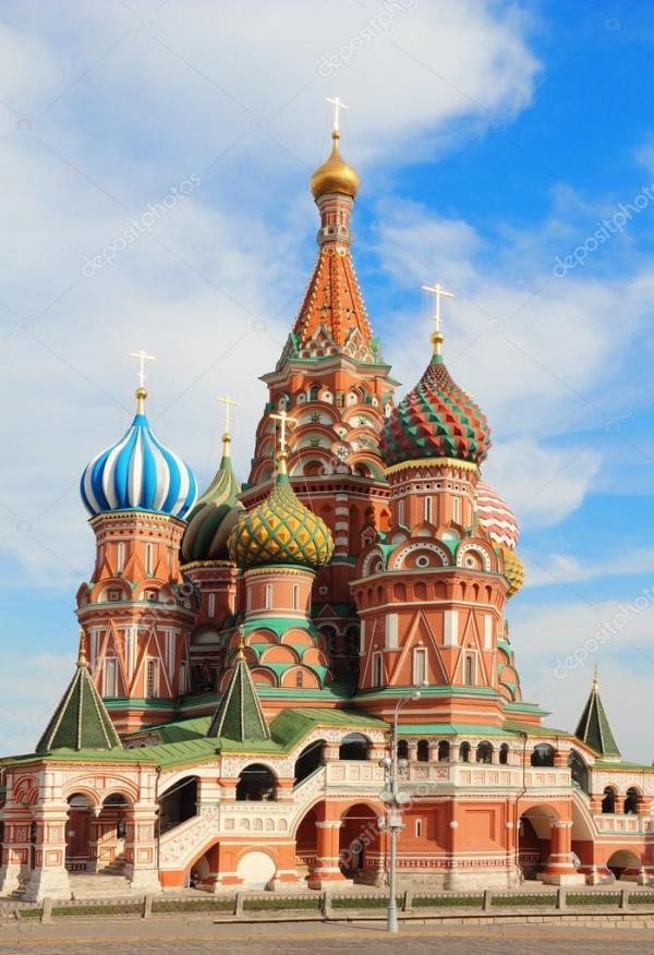 Собор Святого Василия Блаженного на Красной площади в ...