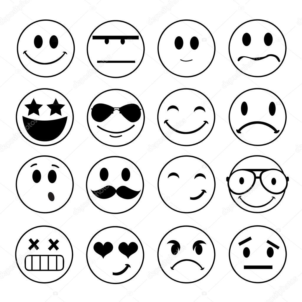 Emotional Face Icons