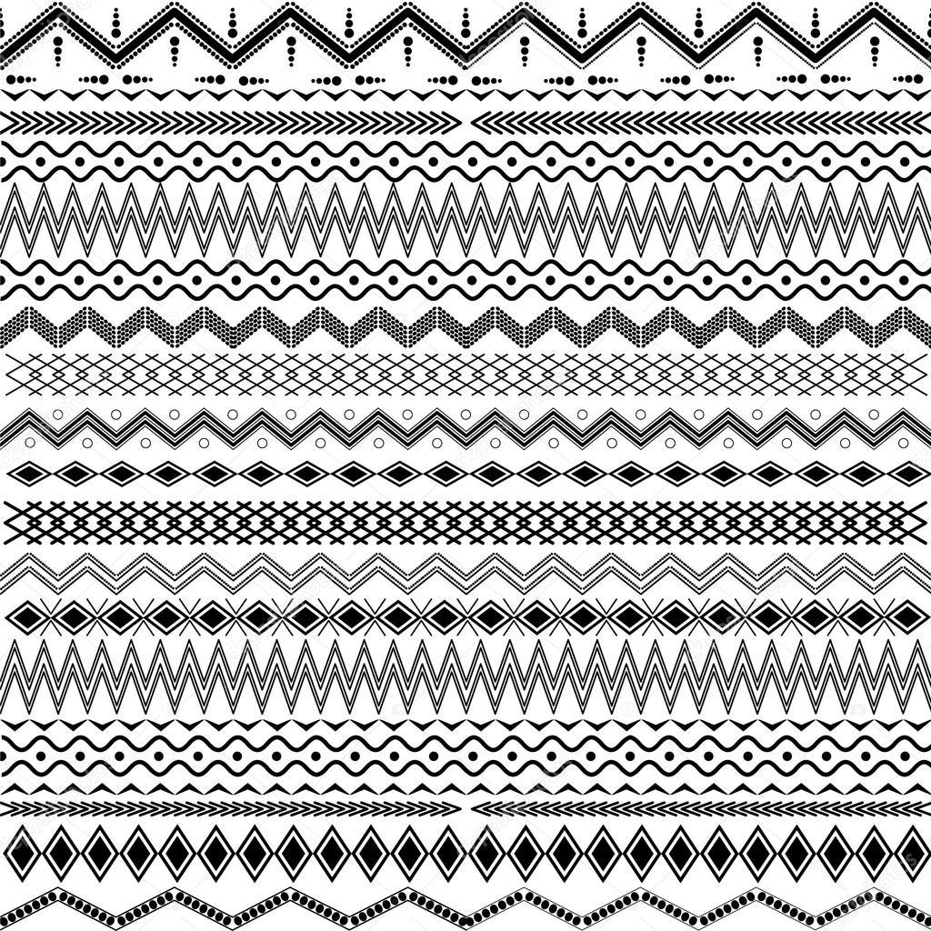 Textura Con Ornamentos Geometricos