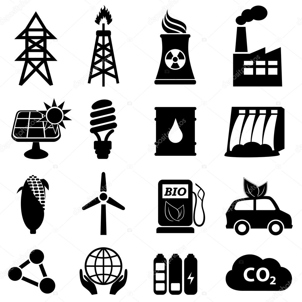Iconos De Energia