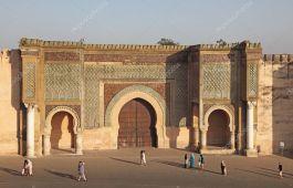 Resultado de imagen de Puerta Bab el-Mansour