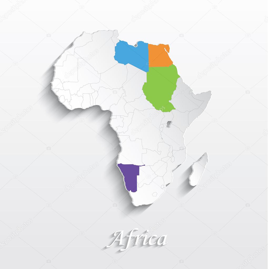 ᐈ African Map Stock Images Royalty Free Maps Of Africa Icon Download On Depositphotos