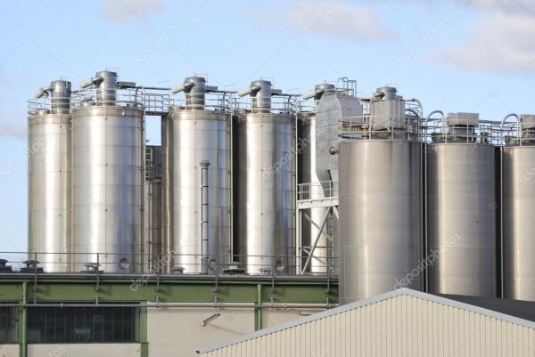 Химический завод — Стоковое фото © manfredxy #21521551