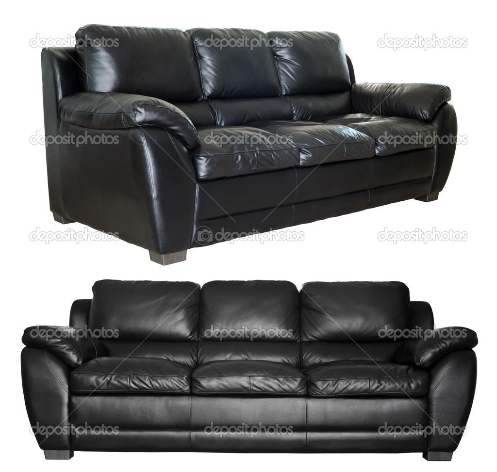 https depositphotos com 35299017 stock photo modern black leather sofa html