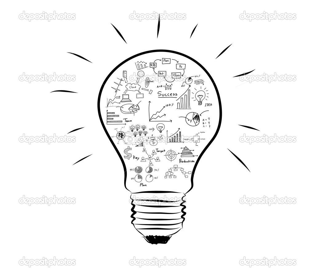 Lampada Com Desenho Grafico Dentro