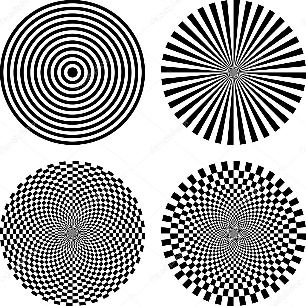 Easy Optical Illusion Coloring Pages