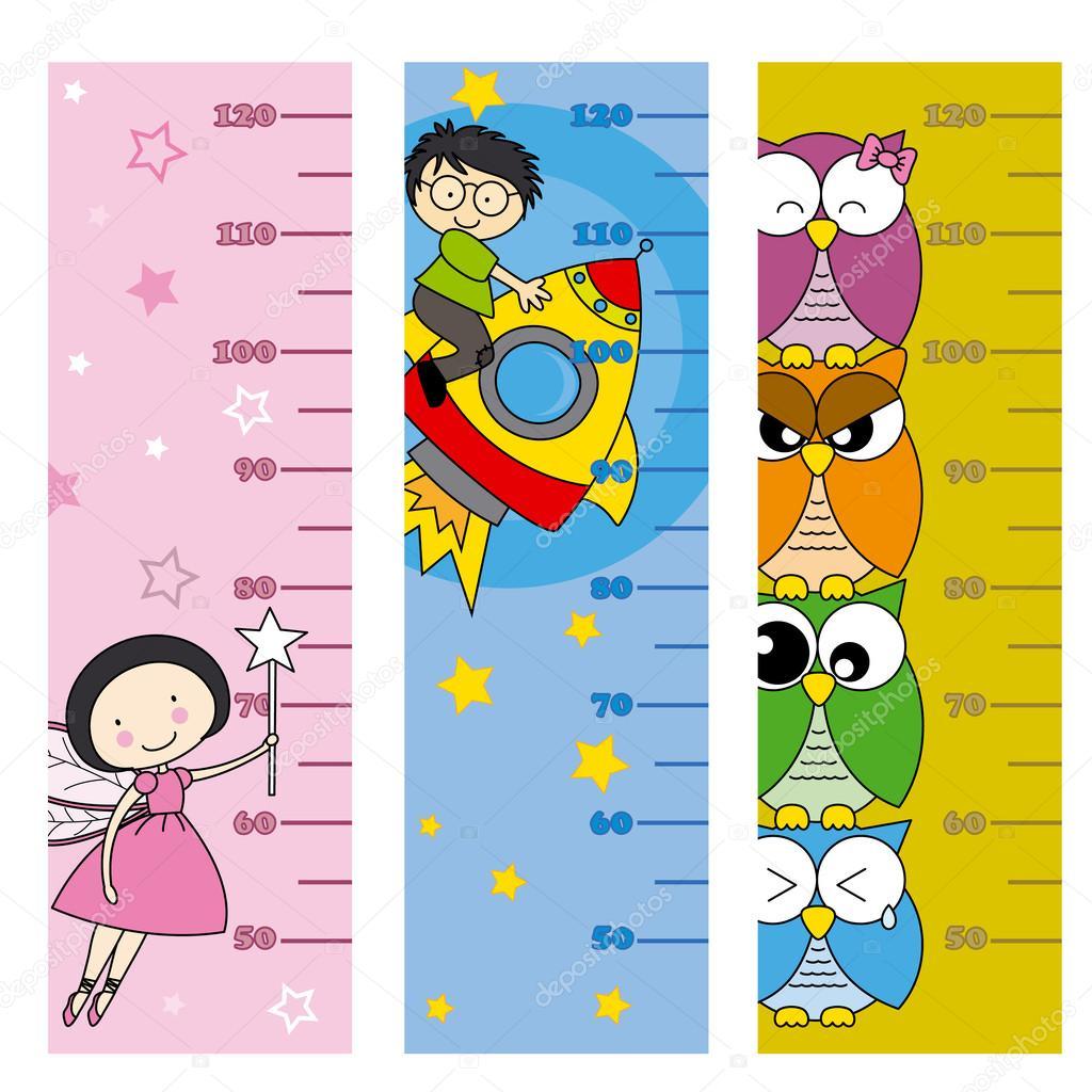 Children Height Meter