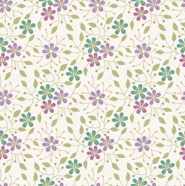Seamless flower backgroundpattern Stock Vector 20249885