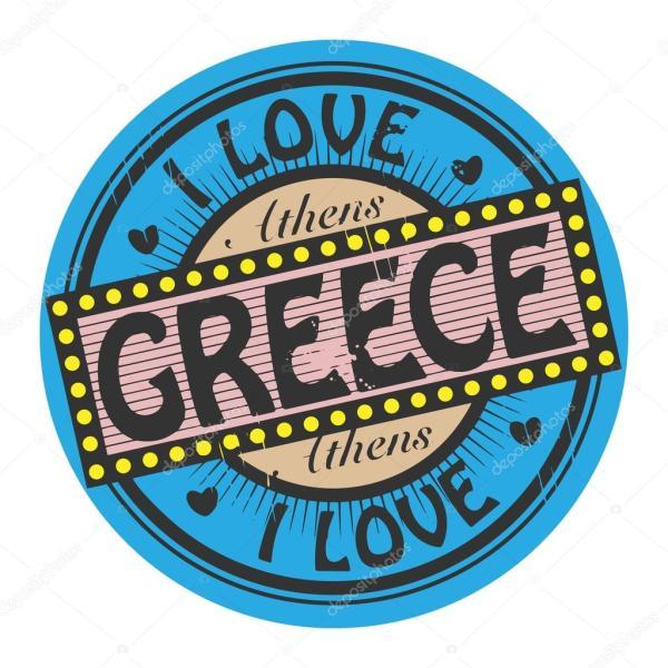 Скачать картинки про грецию. Я люблю Грецию — Векторное ...