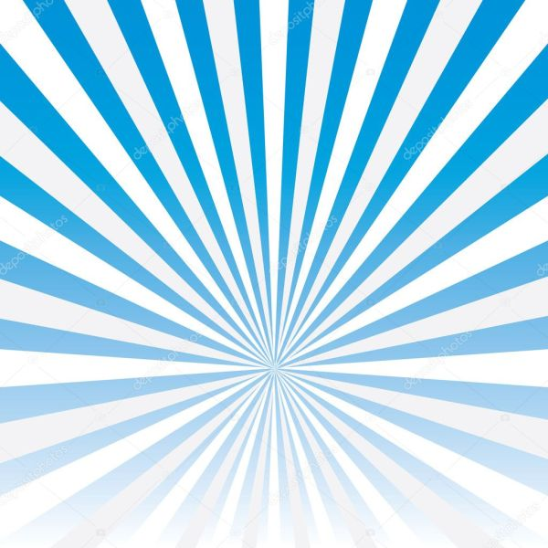Vector abstract background of blue star burst . — Stock ...