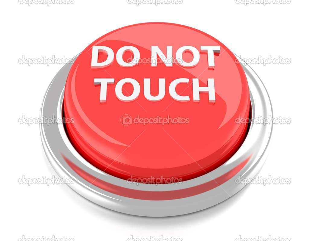 Image result for do not touch