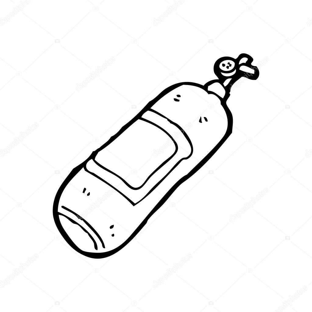 Gas Tank Cartoon