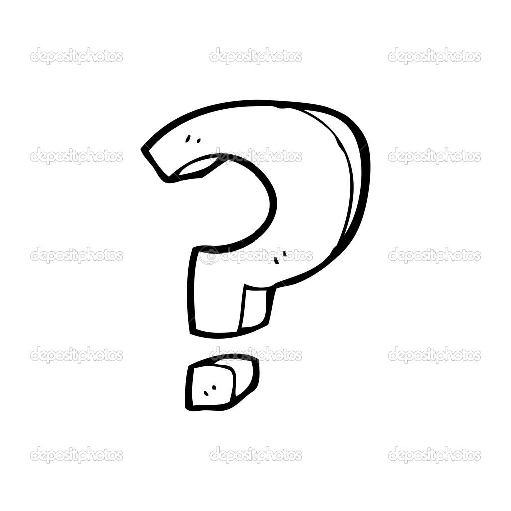 Cartoon Question Mark