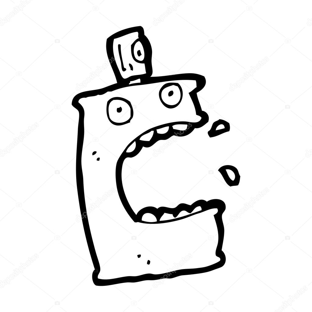 Spray Can Character