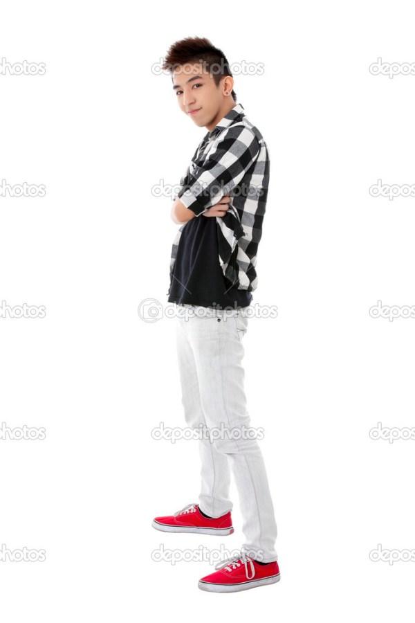 Симпатичный парень на белом фоне — Стоковое фото © kozzi2 ...