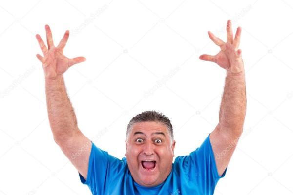 Картинка человек с поднятыми руками. Счастливый человек с ...
