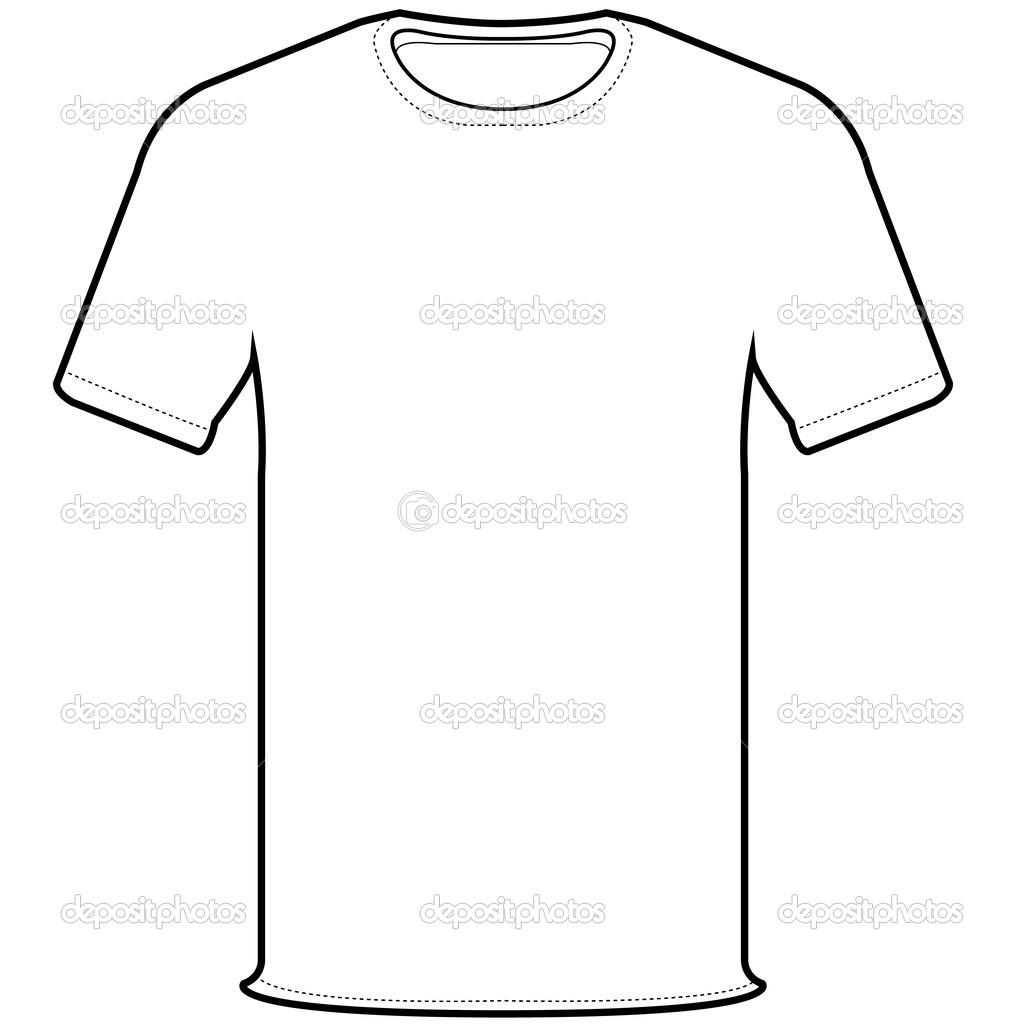 Vector De Camiseta Frontal