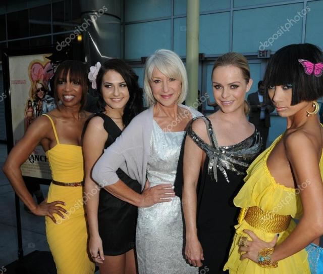 Elise Neal Scout Taylor Compton Helen Mirren Taryn Manning And Bai Ling At The Love Ranch Los Angeles Premiere Arclight Cinemas Hollywood Ca