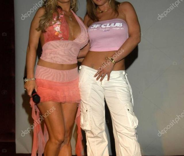Jill Kelly Und Tyler Faith Stockfoto