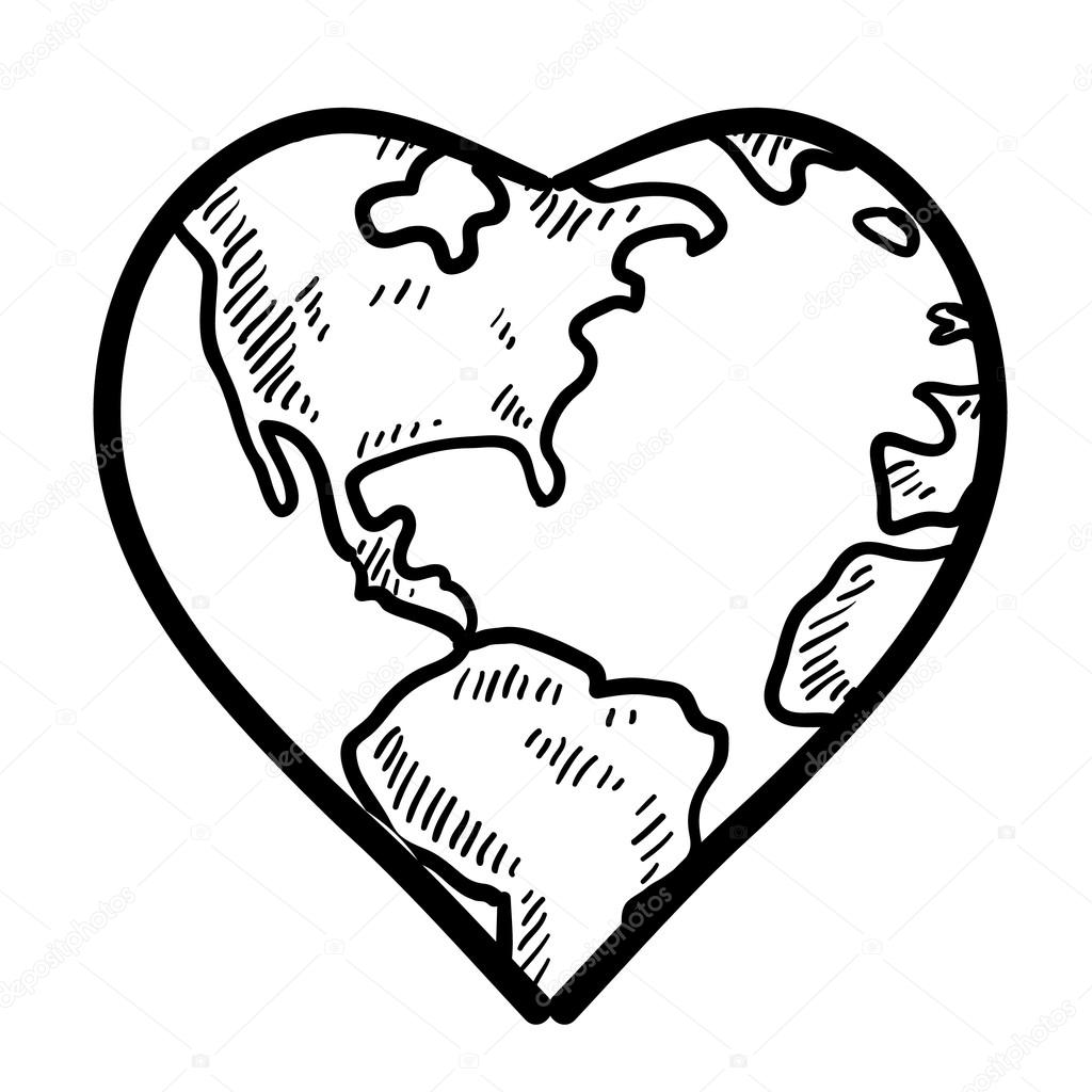 Love For The Earth Sketch