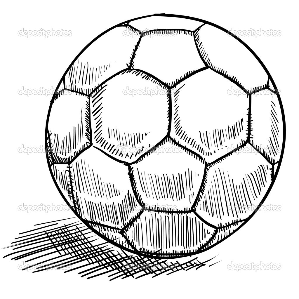 Soccer Ball Sketch