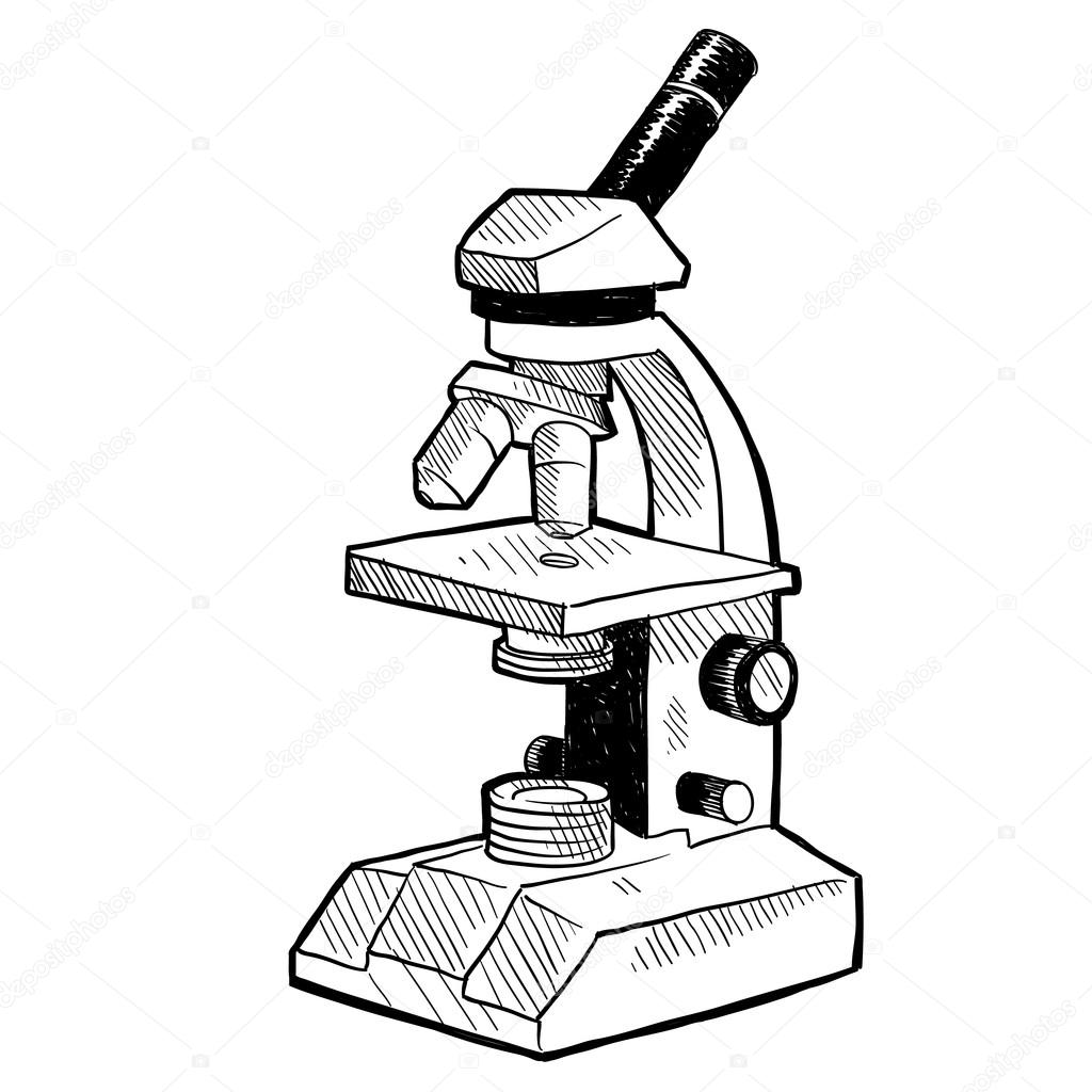 Microscope Coloring Pages