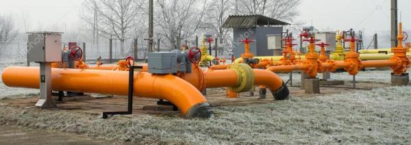 Оранжевый газовая труба — Стоковое фото © NagyDodo #18307171