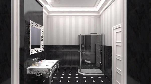 Светлый и чистый европейский туалет — Стоковое фото ...