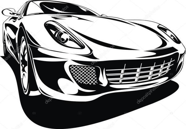 Мой оригинальный дизайн спортивного автомобиля — Вектор ...