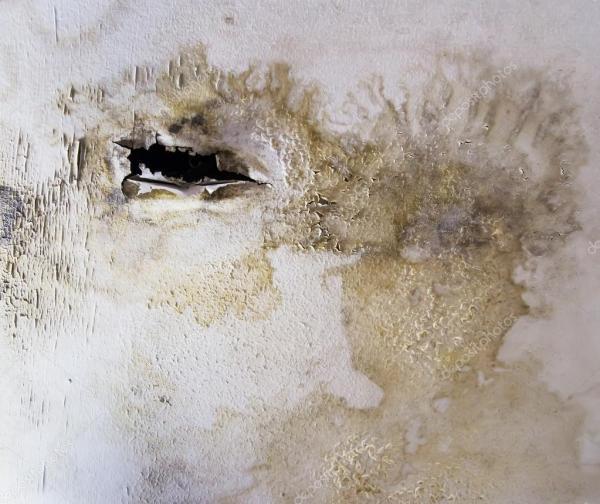Поврежденный потолок для фона — Стоковое фото © Myimagine ...