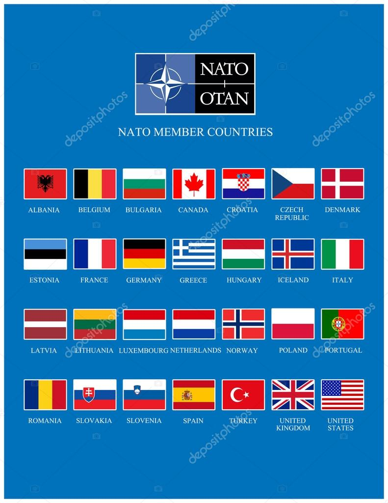 Image result for list of NATO countries