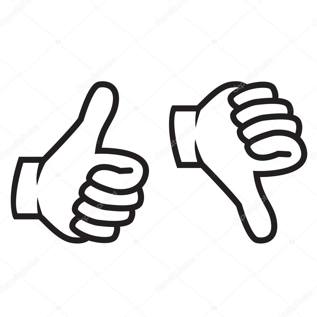 Thumbs Up And Down Gesture