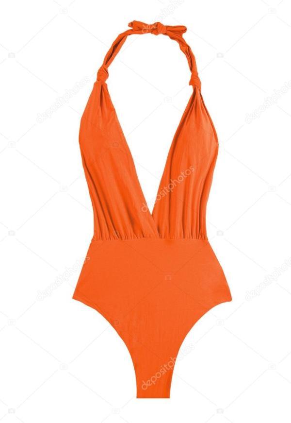 Фото: оранжевый купальник. Оранжевый женский купальник ...
