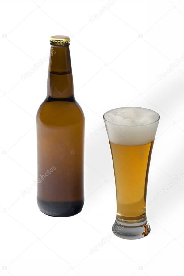 Чешское пиво премиум в стекле — Стоковое фото ...