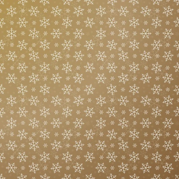 Christmas Seamless Golden Vector Pattern - Via Depositphotos
