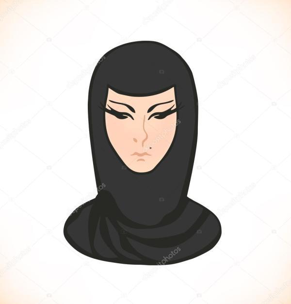 Фото восточных женщин в национальных костюмах. Голова ...