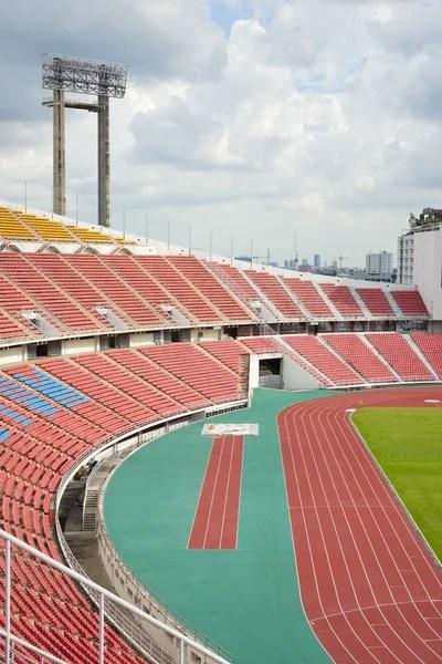 Фотографий: нумерация. Мультфильм фон стадиона с беговыми ...