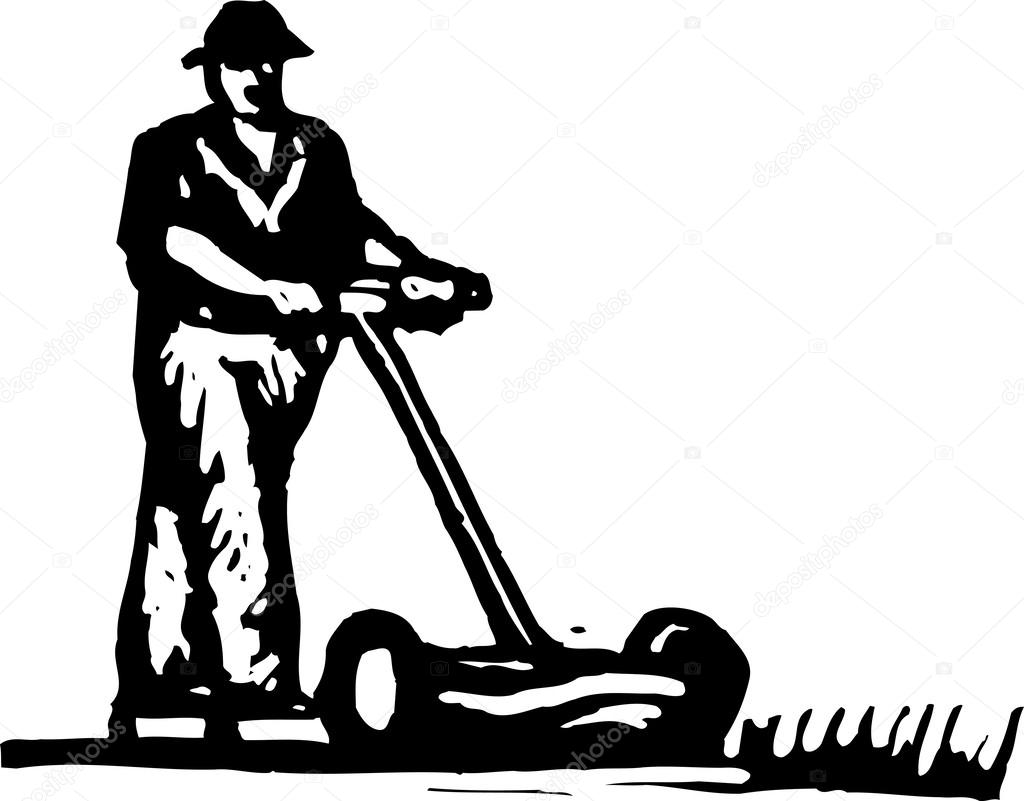 Vector Lawnmower Pics Stock Photos All Sites