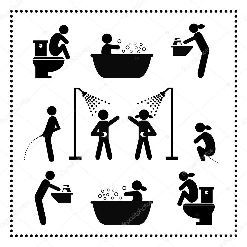 Korperpflege Symbol