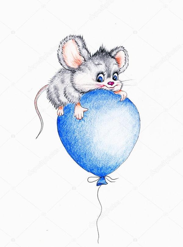 Смешные картинки про полет. Смешная мышь, полет на ...