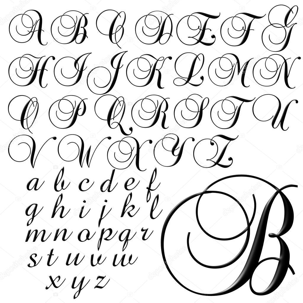 Desenho De Letras De Alfabeto Abc