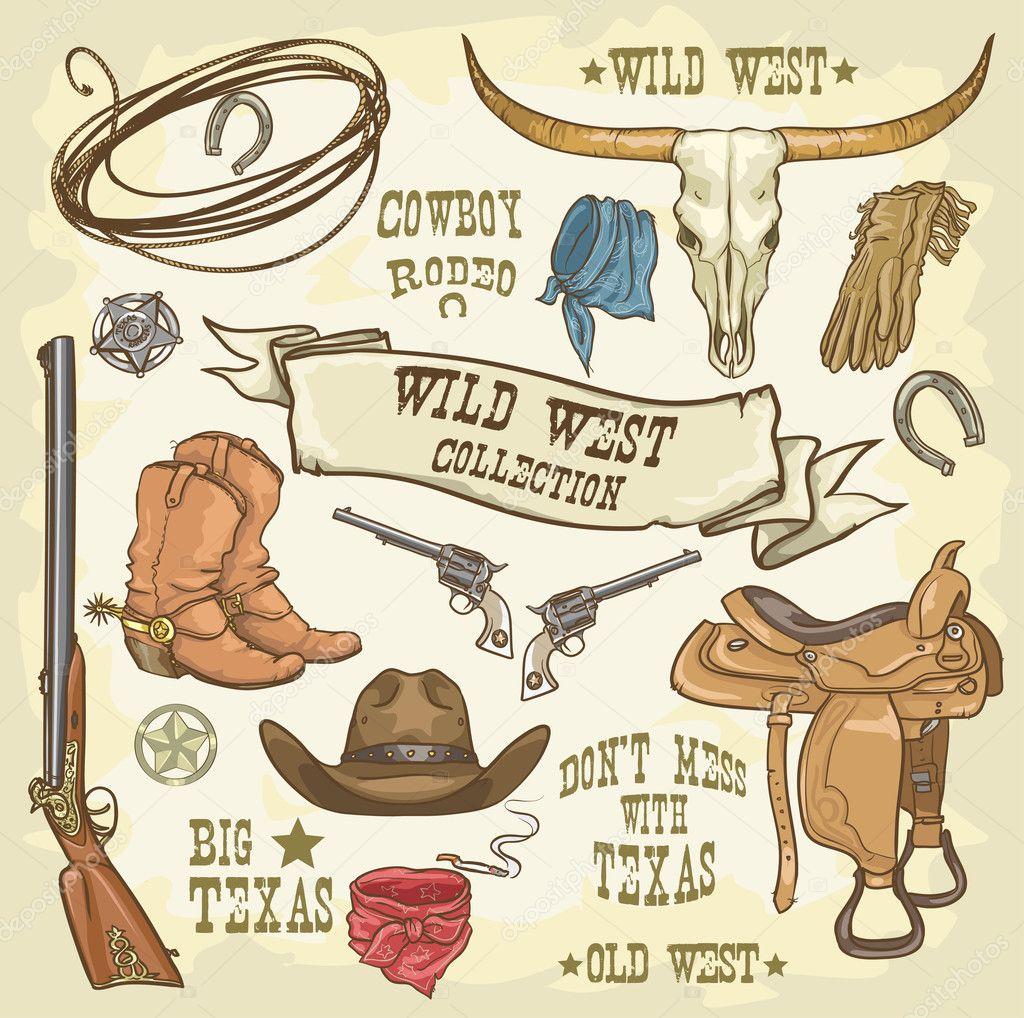 Wild West Collection Cowboy Stuff